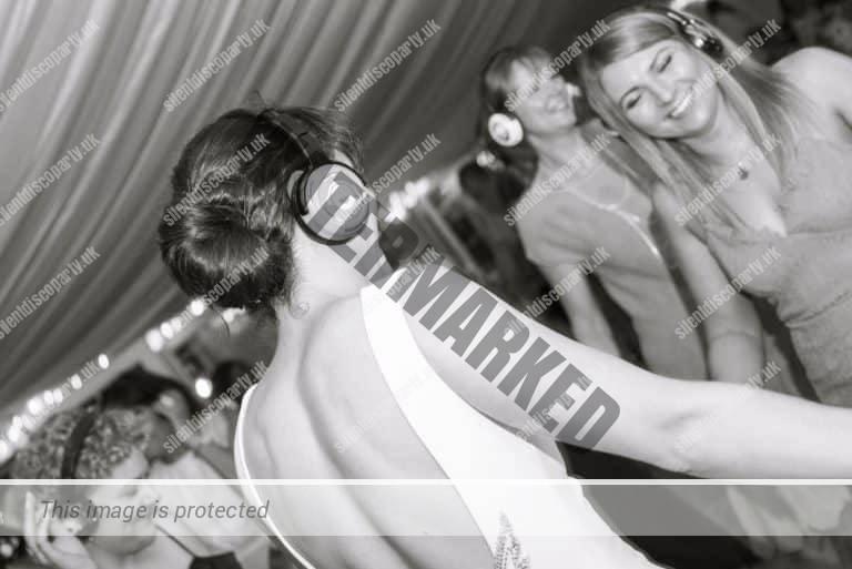 Silent Disco Wedding Hire headphones & DJs
