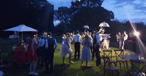 silent discos, garden parties & events outside