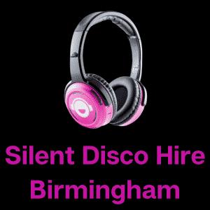 silent disco hire birmingham