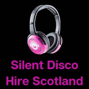 silent disco hire Scotland