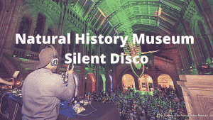 Natural History Museum Silent Disco London